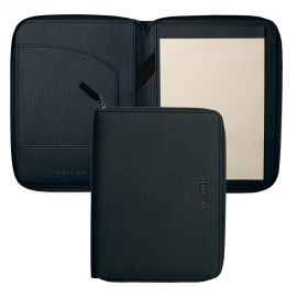 Cerruti 1881 Hamilton Dark Blue A5 Conference Folder
