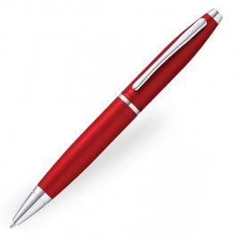 Cross Calais Crimson Red Chrome Trims Ball Pen