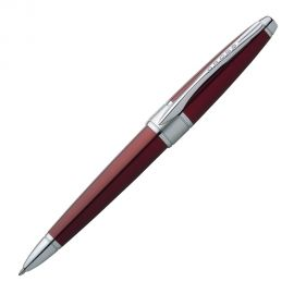 Cross Apogee Titan Red Lacquer with Chrome Trim Ball Pen