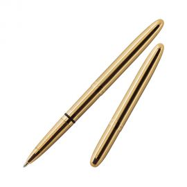 Fisher Space Pen 400 Bullet Gold plated Ball Pen