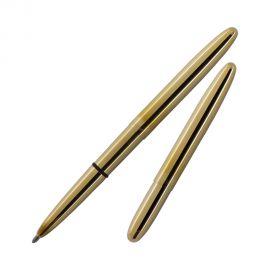 Fisher Space Pen 400 Bullet Raw Brass Metal Ball Pen