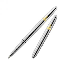 Fisher Space Pen 600 Bullet Chrome Ball Pen with 'Shuttle Emblem'