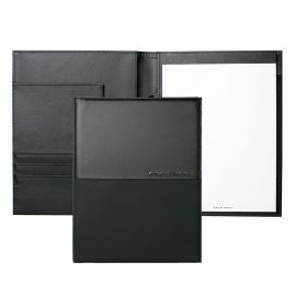Hugo Boss Caption Contrast Black A5 Folder