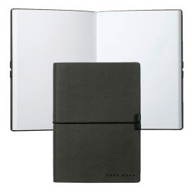 Hugo Boss Storyline Dark Grey A6 Note Pad