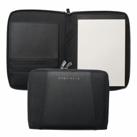 Hugo Boss Keystone Black A5 Conference Folder